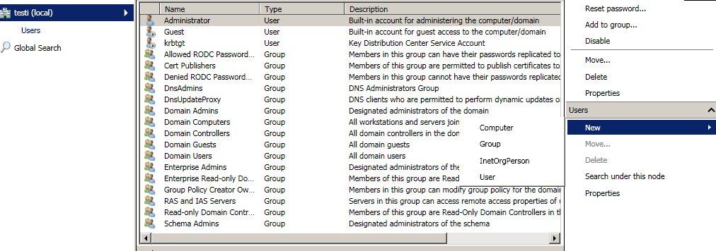 Windows server 2008 R2 - ICT Manuaali